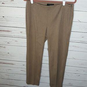 Talbots Pants - Talbots | Petite Tan Pleated Work Pants